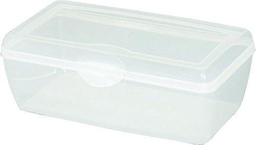Sterilite 18058606 Large Clear Flip Top Storage service Tucson Mall Box