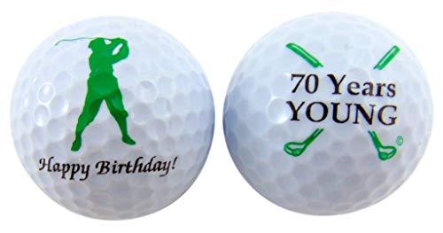Westman Works Golfbälle zum 70. Geburtstag für Golfer