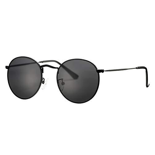 screw detail metal sunglasses - 4