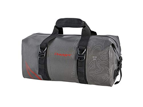Dagger On-Tap Dry Bag Duffel | Kayak Dry Bag with Tie Down Rings | Waterproof Zipper and Compression Straps, Dark Gray, 30L (8090004)