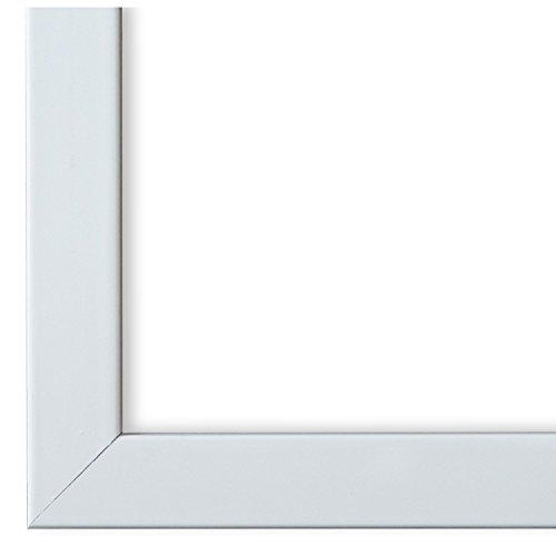 Online Galerie Bingold Bilderrahmen Weiß 15x30-15 x 30 cm - Modern, Retro, Vintage, Shabby - Alle Größen - handgefertigt - WRF - Como 2,0