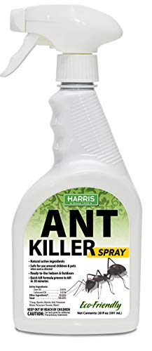 HARRIS New Ant Spray, Plant Oil Based Quick Ant Killer Formula for Indoor and Outdoor Use, 20oz