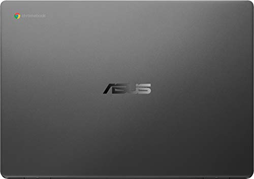 ASUS Chromebook C423 14' Laptop Computer for Business Student, Intel Celeron N3350 up to 2.4GHz, 4GB DDR4 RAM, 32GB eMMC, 802.11AC WiFi, Webcam, Type-C, Online Class Ready, Chrome OS, BROAGE Mousepad