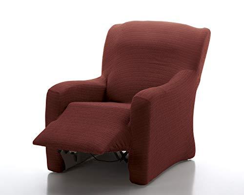 Funda de sofá Bielástica Relax Fresh (Relax Completo, Granate)