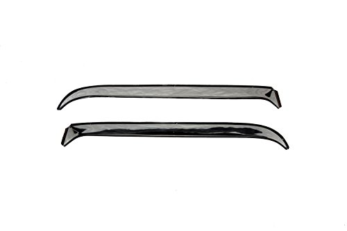 Auto Ventshade 12032 Ventshade with Stainless Steel Finish, 2-Piece Set for 1971-1996 Chevrolet and GMC Full Size Vans