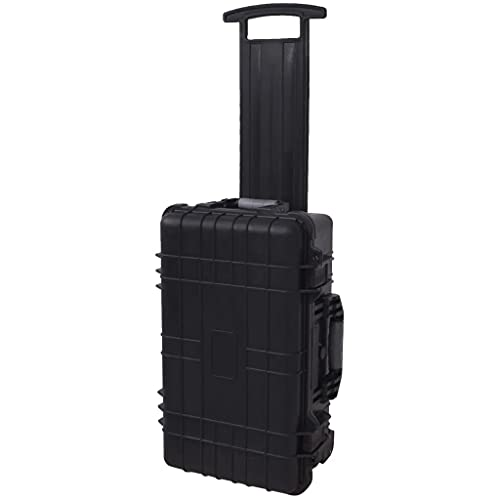 vidaXL Wheel-equipped Tool/Equipment Case with Pick & Pluck Transport...