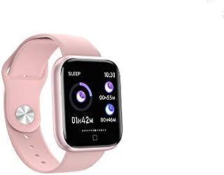 QLKJ Reloj Inteligente Mujer y Hombre Impermeable Pulsera Actividad Deportivo con Monitor de Sueño Pulsómetro Pantalla Táctil Completa Reloj Fitness