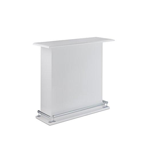 ACME Furniture Acme 72580 Kite bar Table, White, One Size