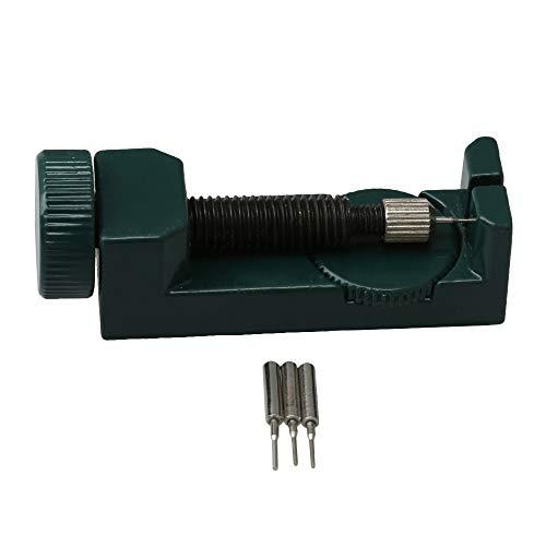 BQLZR - Kit de herramientas de reparación para correa de reloj con 3 pines extra, color verde
