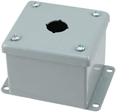 BOX STEEL GRAY 3.5