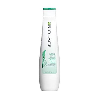 BIOLAGE Scalpsync Anti-Dandruff Shampoo | Targets Dandruff, Controls The Appearance of Flakes & Relieves Scalp Irritation | Paraben-Free | For Dandruff Control