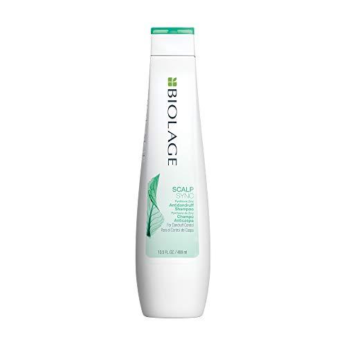 BIOLAGE Scalpsync Anti-Dandruff Shampoo | Targets Dandruff, Controls The Appearance of Flakes & Relieves Scalp Irritation | Paraben-Free | For Dandruff Control |13.5 Fl. Oz.
