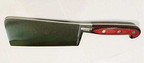 Nucci Classe coltello mannaia mannaretta manico legno lama forgiata inox