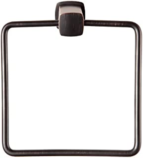 Baldwin 3894 Miami Style Towel Ring from the Prestige Collection, Venetian Bronze