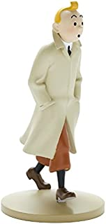 Collection figurine Tintin walking coat 12cm Moulinsart 42190 (2015)