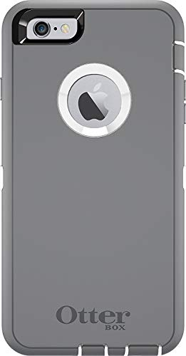 Rugged Protection OtterBox DEFENDER Case for iPhone 6 , 6s - Not for iPhone Plus Size (Gray)