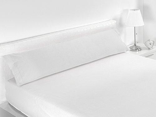 SABANALIA - Funda de Almohada Combina tamaños, Cama 150, Blanco