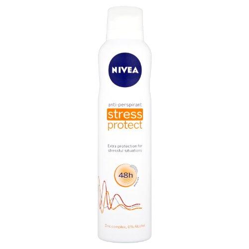 NIVEA Stress Protect Aerosol Antiperspirant Deodorant Spray, 250 ml