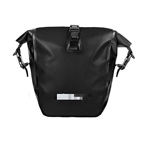Bicycle Rear Seat BagFolding 15-25L Bicycle Rear Seat Bag Waterproof Cycling Sides Bag Seatpost Bag MTB Luggage Rear Frame BagMultifunctional Bicycle Transport Bag (Size:L; Color:Black)