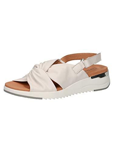 CAPRICE Damen Sandale 9-9-28700-26 160 G-Weite Größe: 40 EU