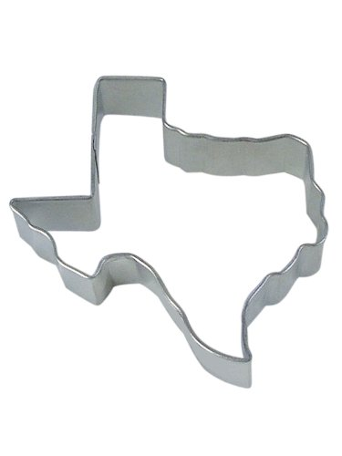 R&M Texas State 3.5 Cookie Cutter in Durable, Economical, Tinplated Steel