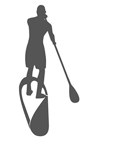 Desconocido Generic Stand Up Paddle Pegatinas en 15cm, 20cm, 30cm o 50cm Tabla de Surf etiqueta auto adhesivo (195/1)