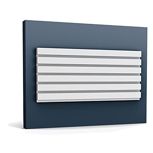 3d revestimiento mural Orac Decor W111 MODERN BAR Panel de pared Elemento decorativo diseño moderno blanco 2 m