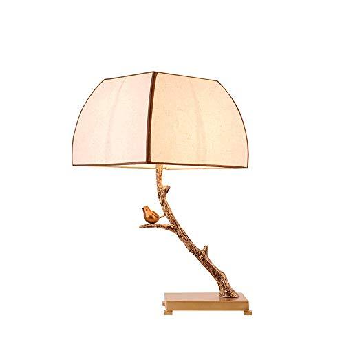 LIUJIE nieuwe vintage Chinese bureaulamp tafellamp vogel Ramo Creative woonkamer slaapkamer bedlampje showroom sala theelicht verlichting