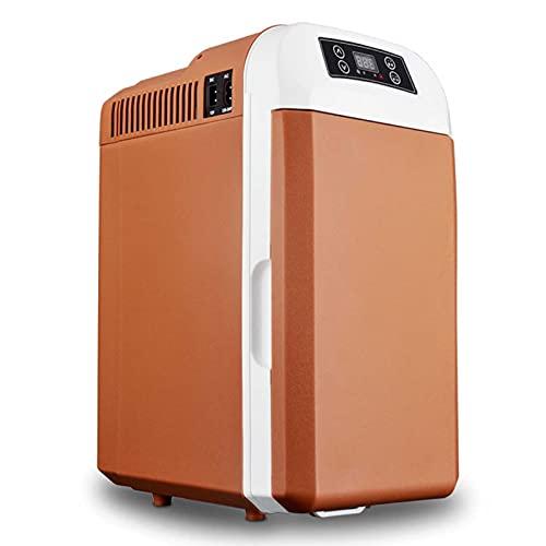 Mini Refrigerador y Calentador Eléctrico (8 litros / 12 Latas) Termoeléctrico Portátil AC/DC para el Cuidado de la Piel, Alimentos, Medicamentos, Hogar y Viajes, para el día de la Madre