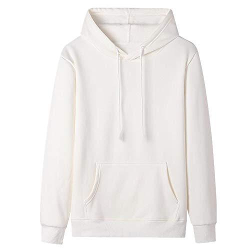 Suéter de los hombres de algodón suelto de la Felpa engrosada con capucha de invierno primavera y otoño deportes y ocio Chaqueta con capucha
