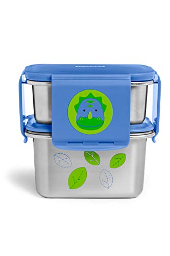 Great Features Of Skip Hop Zoo Stainless Steel Lunch Kit - Dino