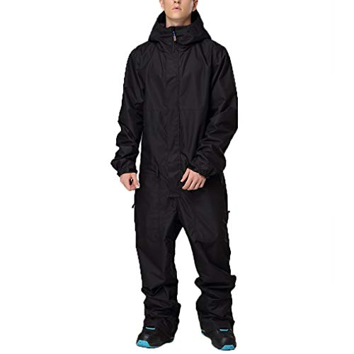 HSYD Heren 1 Stuks Ski Suits, Waterdichte Winddichte Ski Onesie, Jumpsuits Overalls, Winter Outdoor Snowsuits voor Sneeuwsport