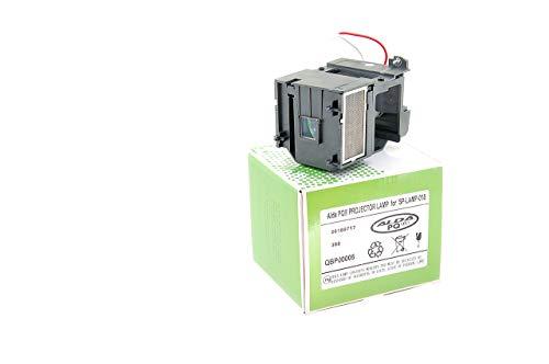 Alda PQ-Premium, Beamerlampe / Ersatzlampe für INFOCUS X2 Projektoren, Lampe mit Gehäuse