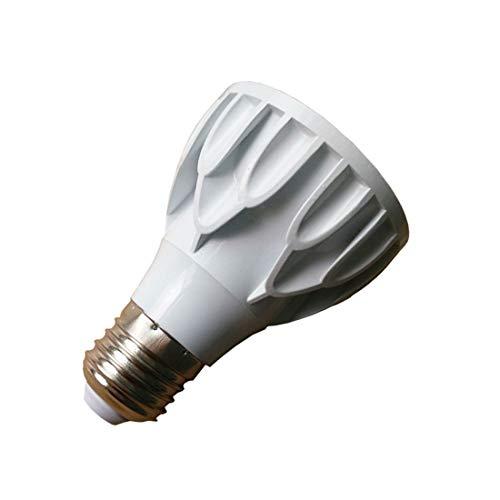 Akaiyal 12W PAR20 Lampadina a LED E27 Faretto a Luce Bianco Caldo 3000K COB Riflettore Lampada 24 Gradi Proiettore Downlight Faretto Alogeno Ricambio (1-Pack, Non Dimmerabile)