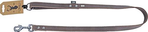 Boony Est1941 hondenriem lijn leder 16mm 100cm lang bruin