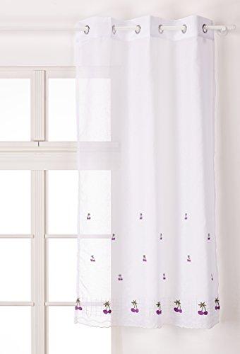Export Trading Eden Keers - Cortina, color morado, talla 100 x 150 cm