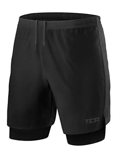 TCA Men's Ultra 2 in 1 Running Shorts