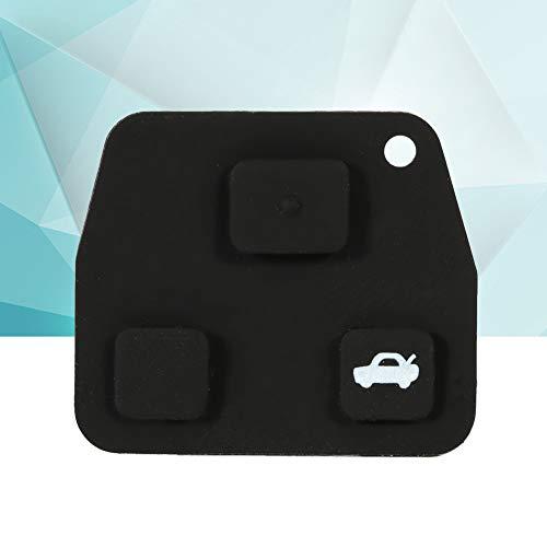 Substituição da almofada de borracha, almofada de proteção de chave, almofada de borracha, fácil de instalar para Toyota Avensis Corolla Lexus Rav4 Black Oficina de conserto de automóveis