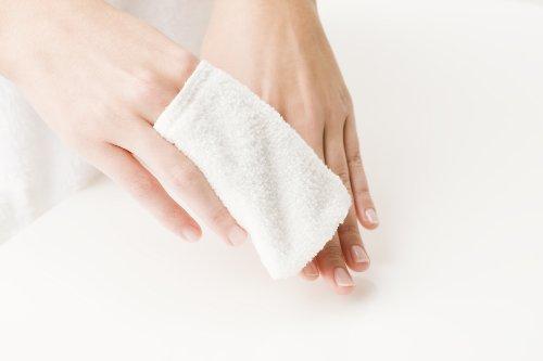 Micro Peeling Sensation Fingerlinge, 8 x 10 cm 6-teilig, weiß