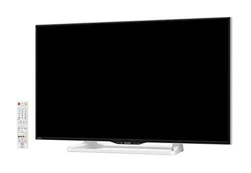 『シャープ 40V型 液晶 テレビ AQUOS LC-40W35-W フルハイビジョン 外付HDD対応(裏番組録画) ホワイト 2016年モデル』の2枚目の画像