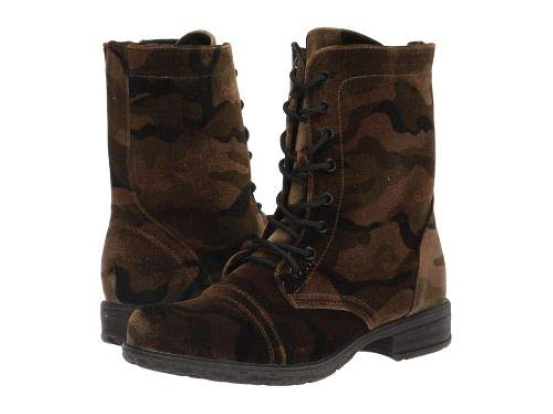 VOLATILE(ヴォラタイル) レディース 女性用 シューズ 靴 ブーツ レースアップブーツ Avox - Camo [並行輸入品]