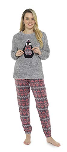 CityComfort Damen Pyjamas Set Damen Loungewear Pyjamas für Frauen Comfy warme weiche...
