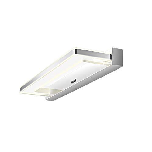 LIU WU FENG Luces de Espejo Espejo LED Faros Lámpara de Pared Espejo Gabinete Luz Baño Baño Maquillaje Lámpara Luz Blanca cálida [Clase energética A +]