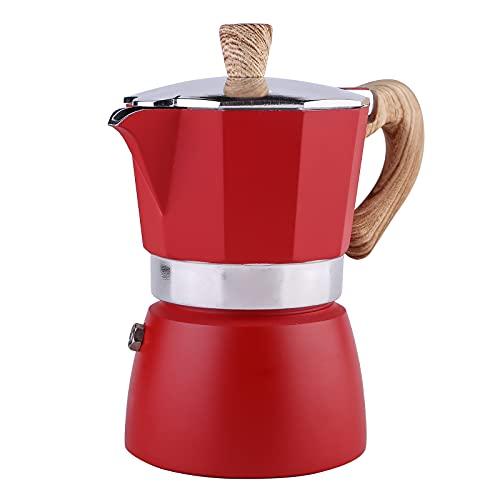 KBSN Olla de expreso, cafetera para expreso Fuerte de Gran Sabor, Taza de café expreso de Estilo Italiano clásico, Olla Moka, fácil de operar y de Limpieza rápida