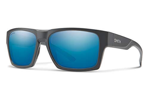 Smith Optics Outlier XL 2 Sunglasses, Matte Charcoal / ChromaPop Polarized Blue Mirror, One Size -  200673RIW59QG