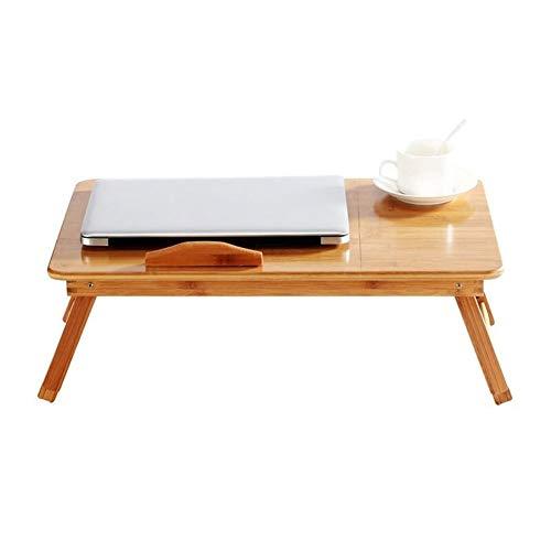 HHGO Houten Opklapbare Tafel, Draagbare Multi-Functie Slaapzaal Kleine Laptop Tafel, Indoor Outdoor Picknick Party Reizen Tafelkamp Tafel