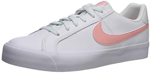 Nike Court Royale AC, Scarpe da Ginnastica Basse Donna, Bianco (White/Bleached Coral/Ghost Aqua 107), 38 EU