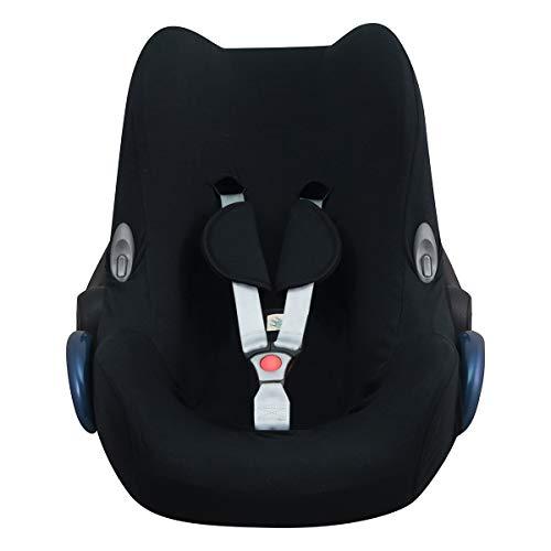 JANABEBE Funda para Maxi Cosi Cabriofix, silla de coche gr 0 (Black series)