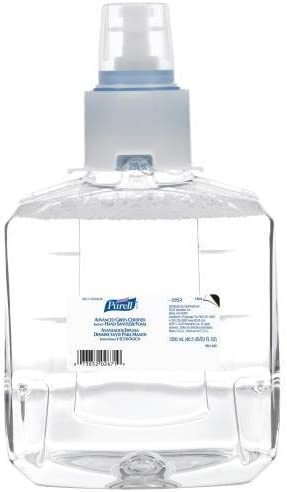 Max Great interest 66% OFF Purell Advanced Hand Sanitizer Green Certified Foam 1200 Instant