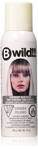 Price comparison product image jerome russell B Wild Color Spray,  Siberian White,  3.5 Ounce